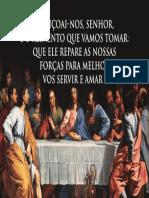 ÍMAN - BÊNÇÃO DA MESA - 12X8CM - CLÁSSICO