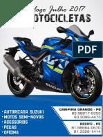 Catálogo F1 Motocicletas Mês de Julho