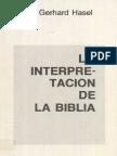 LaInterpretacionDeLaBiblia_GerhardHasel