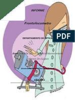 Frontofocometro o Lensometro Novo