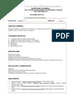 Programa Sintético - Estática - S3