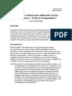 El Fin de La Ingenuidad 16.7