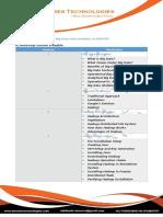 Course Contents BigData Analytics & Hadoop