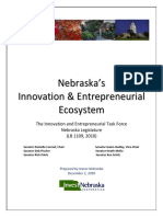 LB 1109 (2010) - Innovation & Entrepreneurship Task Force Report