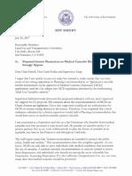 MCD Moratorium Letter