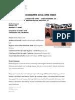 Adtek Engineers Inc - 1st Place Innovative Detail