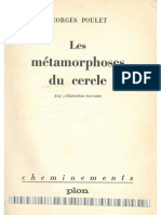Poulet Les Métamorphoses Du Cercle - Flaubert