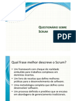 Questionario Scrum