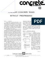 Circular Concrete Tanks Without Prestressing