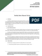 Turbine Rotor Runout Checks(Gek72270)