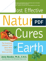 The Most Effective Natural Cures on Earth - Johnny Bowden