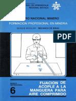 Mecánica de Minas Centro Nacional Minero Colombia modulo instruccional 6