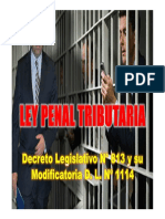 Ley Penal Tributaria Dl 813 y Su Modificatoria Dl 1114 (1)