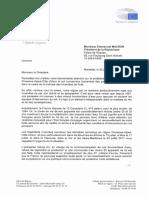 Lettre du président LR de la région Paca Renaud Muselier à Emmanuel Macron