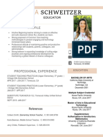 Teaching Resume (1)