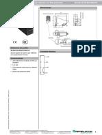 Sensor Fotoelectrico Puente Grua