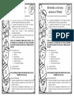 Lista utiles escolares primer grado