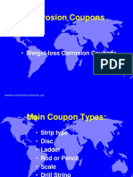 4 BCSI Corrosion Coupons