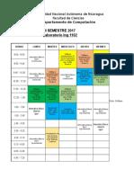 Copia de Horarios Laboratorios IIS2017 3