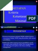 1. Penetapan KKM, 241208