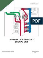 Sistema de Admision MOTOR C175
