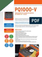 Caracteristicas Tecnicas PQ1000-V