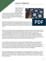Neurofilosofia.com-El Dogma Del Fantasma en La Máquina