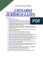 Diccionario Latin - M