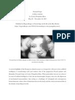 Review of Fernand Léger retrospective at Le Centre Pompidou-Metz