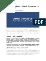 Cómo Funciona Visual Composer en WordPress