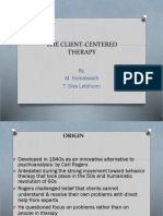 Topic 4 (2) Client-Centered Theory (Humanistic)