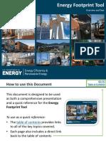 Energy Footprint Guide