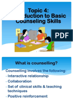 Topic 5 (2) Basic Counselling Skills