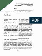 FocusGroup - PowellSingle