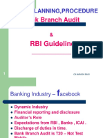 Bank Branch Audit and RBI Guideline