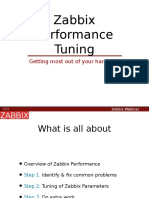 Tune Your Zabbix for Better Performance