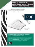Manual Limpeza Cabeca de Impressao Zebra