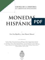 monedas hispánicas. Ripollés, P.P y Abascal, J.M.