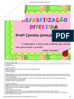 Alfabetização Divertida_ Dinâmicas II