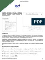 Estadística Inferencial - EcuRed.pdf