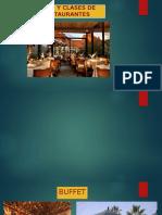 Tipos y Clases de Restaurantes