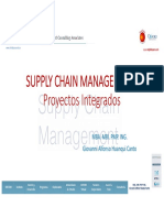 SUPPLY CHAIN MANAGEMENT Proyectos Integrales Giovanni Alfonso Huanqui Canto Oxford Group