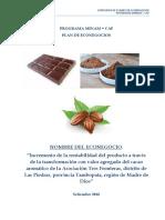 2 - Plan de Econegocio_ATF - MINAMCAF - 2016