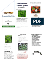 LEAFLET Herbal Dm