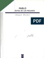 BECKER, J. , Pablo. El apóstol de los paganos, Sigueme 2007.pdf