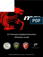 EC Firmware Update SOP for Windows En