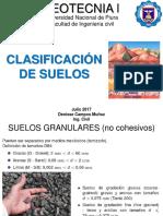 GEOTECNIA I Clasificacion