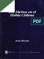 Rivano Juan - Los Dichos En El Habla Chilena.pdf