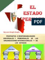 Realidad Nacional El Estado Peruano