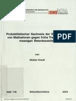 Mass Concrete TU Braunscweig Laube and Mathias Krauss